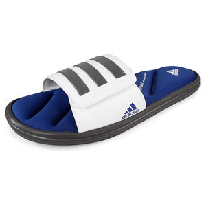 adidas MENS ZEITFREI SLIDE FF GREY/WHITE