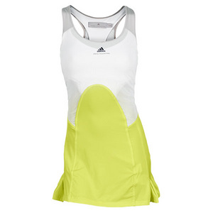 adidas WOMENS STELLA BARRICADE DRESS YL/WH