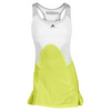 ADIDAS Women`s Stella McCartney Barricade Tennis Dress Running Yellow/White
