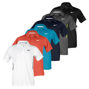 NIKE BOY`S BOARDER UV SS TENNIS POLO