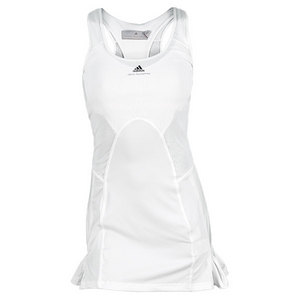 adidas WOMENS STELLA BARRICADE DRESS WHITE