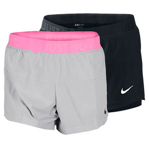 NIKE WOMENS ICON WOVEN 2 IN 1 TRAINING SHORT