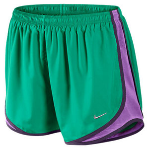 NIKE WOMENS TEMPO RUNNING SHORT ATOMIC TEAL