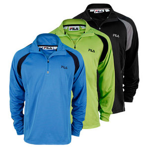 FILA MENS MATCH 1/4 ZIP TOP