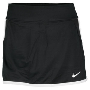 NIKE WOMENS EXTENDED POWER SKIRT BLACK