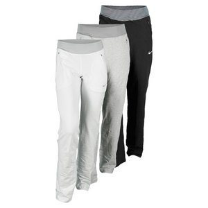 NIKE WOMENS FRENCH TERRY LONG TENNIS PANT