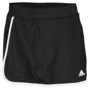 adidas WOMENS TS GALAXY SKORT 3 BLACK