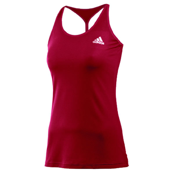 Women's Tennis Sequencials Engineered Tank University Red/White