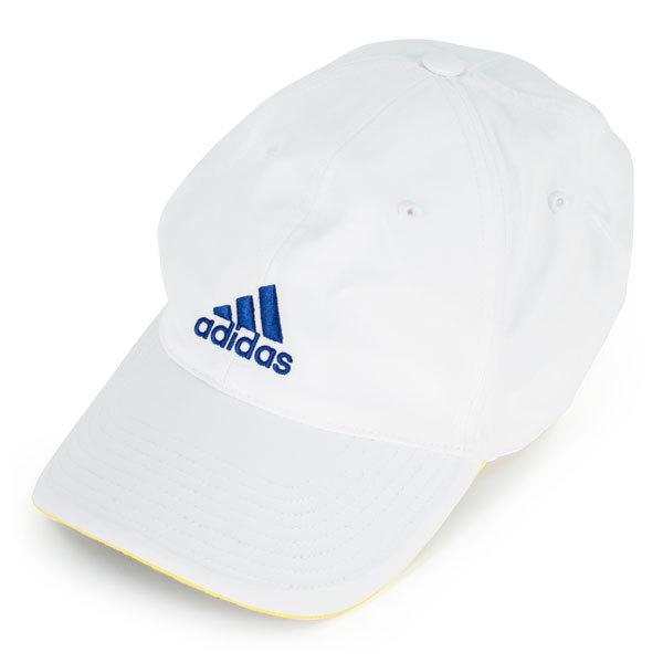 Climalite Tennis Cap White/Blue/Yellow
