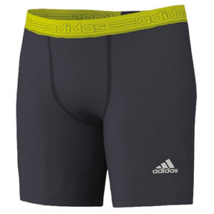 adidas MENS TF 7 IN SHORT TIGHT DK ONIX/YL