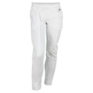 adidas WOMENS STELLA BARR WARM UP PANT WHITE