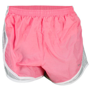 NIKE WOMENS SIDE PANEL PRINT TEMPO SHORT PINK