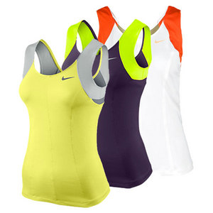 NIKE Women`s Princess Knit Tennis Tank
