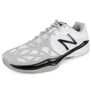 NEW BALANCE MENS 996 D WIDTH TENNIS SHOES WHITE/SILV