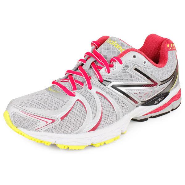 Women's 870 B Width Running Shoes White/Purple