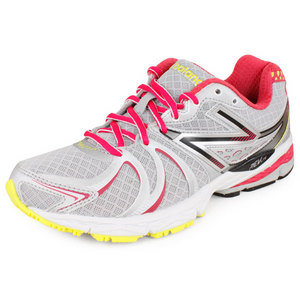NEW BALANCE WOMENS 870 B WIDTH RUNNING SHOES WH/PURP