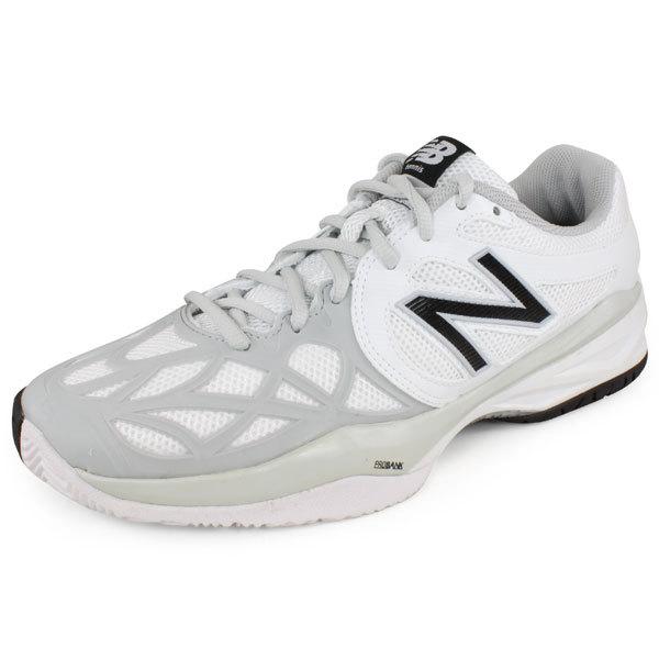 Women's 996 B Width Tennis Shoes White/Silver