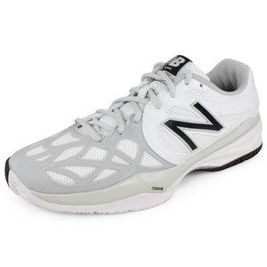 Women`s 996 B Width Tennis Shoes White/Silver