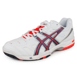 ASICS WOMENS GEL GAME 4 TENNIS SHOES WH/PINK
