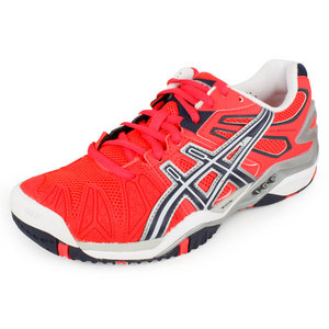 ASICS WOMENS GEL RESOLUTION 5 SHOES DIVA PINK