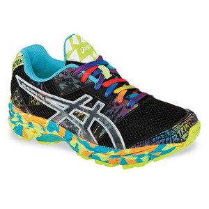 ASICS JUNIORS GEL NOOSA TRI 8 SHOES ONYX/CONF