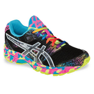 ASICS JUNIORS GEL NOOSA TRI 8 SHOES BK/CONF