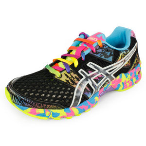 ASICS WOMENS GEL NOOSA TRI 8 SHOES BLACK/CONF