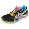 Women`s Gel Noosa Tri 8 Running Shoes Black/Confetti by ASICS