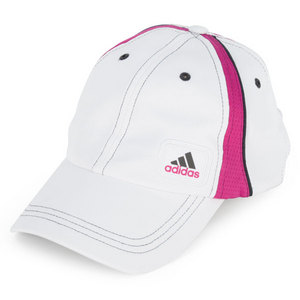 adidas WOMENS ATHLETE CAP WHITE/PINK