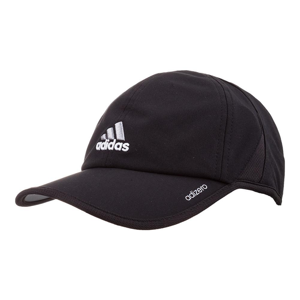 Men's Adizero Ii Tennis Cap Black And Aluminium