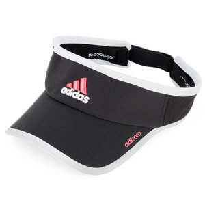 Women`s Adizero II Tennis Visor Black