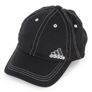 adidas WOMENS ATHLETE CAP BLACK/WHITE