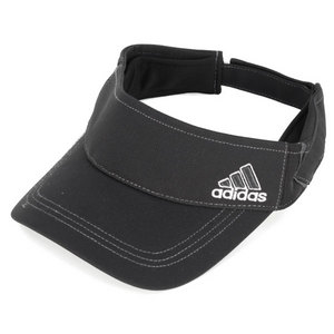 adidas WOMENS ATHLETE TENNIS VISOR BLACK/WHITE