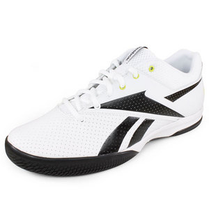 REEBOK MENS ON THE RISE LITE SHOES WHITE/BLACK