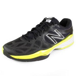 Men`s 996 D Width Tennis Shoes Black/Yellow