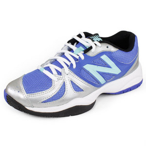 NEW BALANCE WOMENS 696 B WIDTH SHOES DAZZLING BLUE