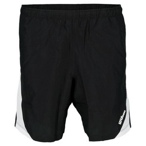 WILSON BOYS FENOM TENNIS SHORT BLACK/WHITE