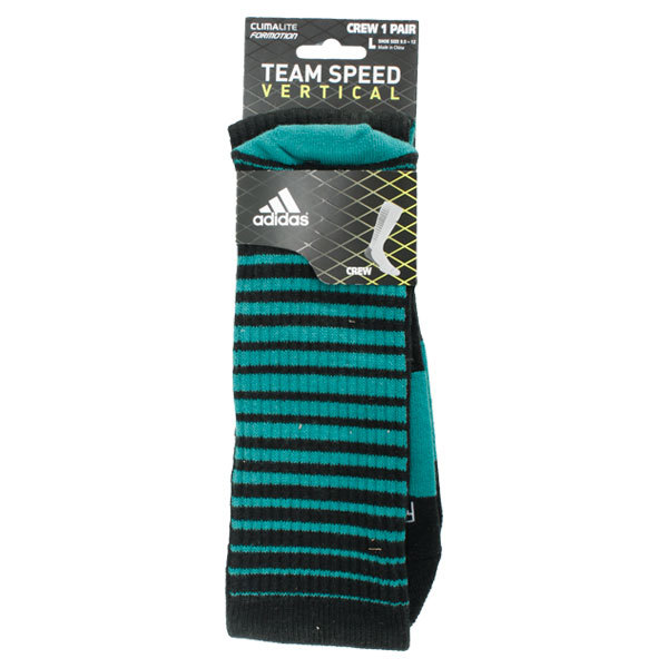 Team Speed Vertical Large Crew Socks 9.5- 12
