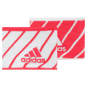 adidas SMALL TENNIS WRISTBANDS PINK/WHITE