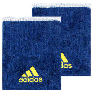 adidas LARGE TENNIS WRISTBAND II BLUE/WHITE/YEL
