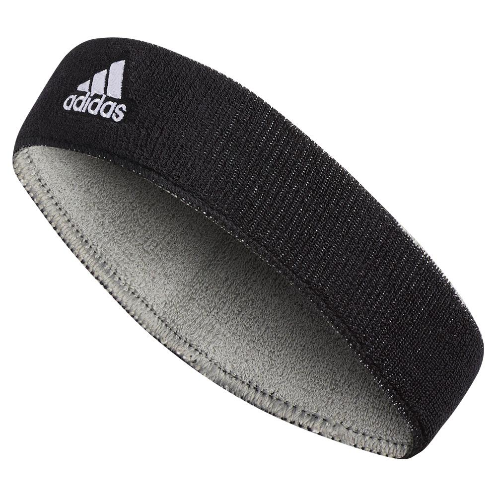 Interval Reversable Headband Black And Aluminium