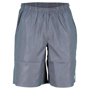 WILSON MENS PURE BATTLE TENNIS SHORT FLINT GREY
