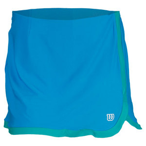 WILSON WOMENS SWEET SUCCESS TENNIS SKORT CYAN