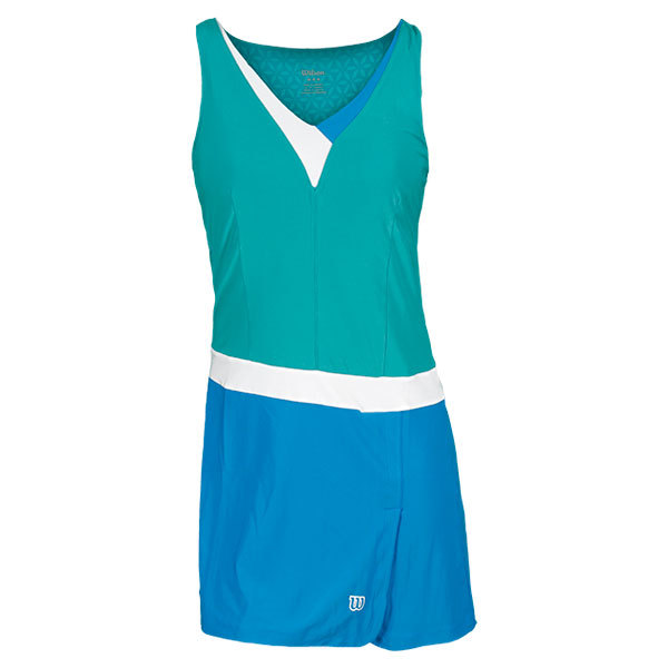 Womens Success Is Sweet Tennis Dress Modern Jade/Cyan