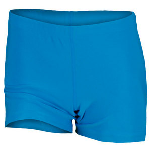 WILSON WOMENS COMPRESSION SHORT CYAN