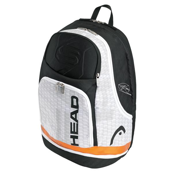 Djokovic Tennis Backpack White/Gray