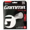 GAMMA Poly Z 17G Tennis String Red