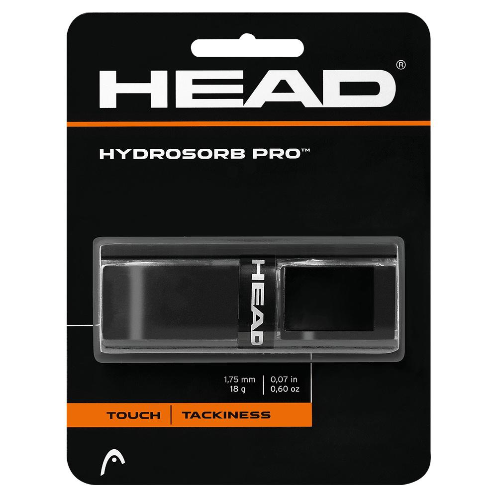 Hydrosorb Pro Tennis Replacement Grip Black