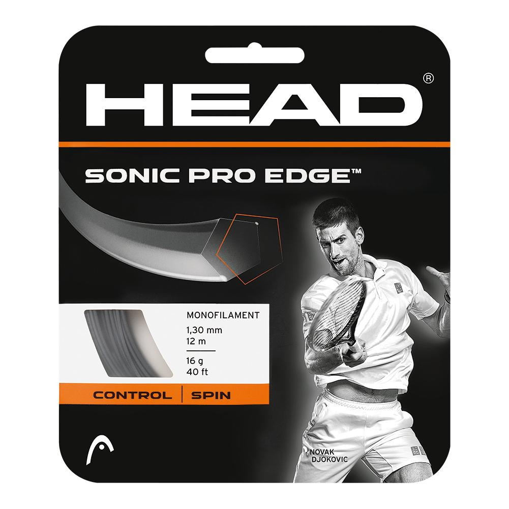 Sonic Pro Edge 16g Tennis String Anthracite