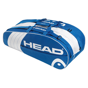 HEAD CORE COMBI TENNIS BAG BLUE/WHITE